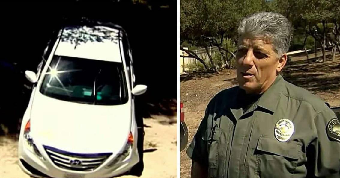 Polizei findet 2 Wochen verschollenes Auto in der Wüste – im Inneren wartet ein schockierendes Wunder